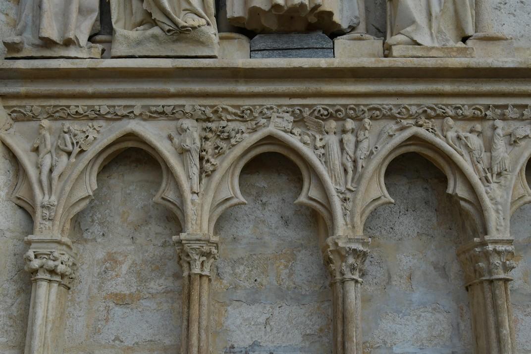 Fris de la Catedral de Bourges