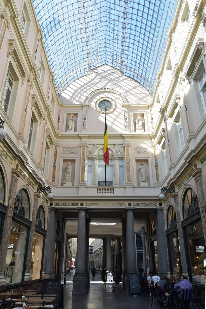 Galeria del Rei de les Galeries Reials Sant Hubert de Brussel·les