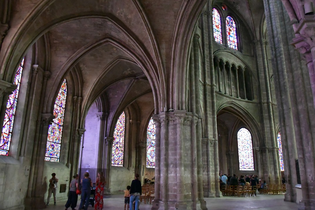 Girola de la Catedral de Bourges
