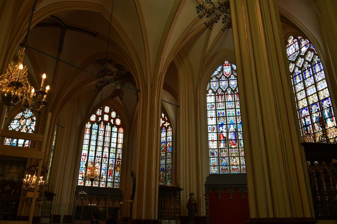 Girola de la Catedral de Sant Salvador de Bruges