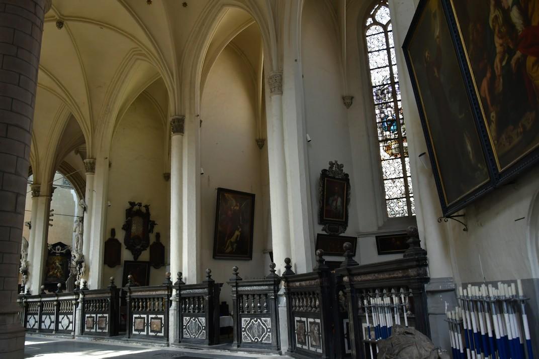 Girola de l'església de Sant Jaume d'Anvers