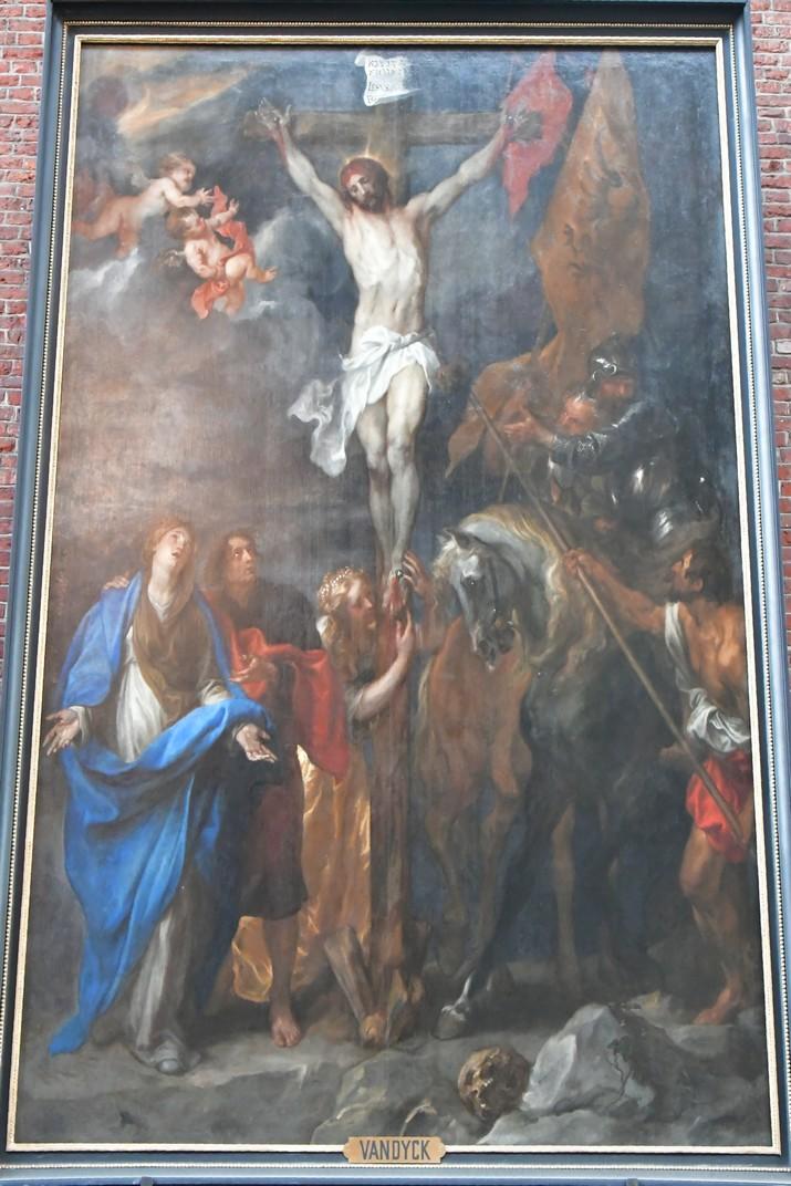Gòlgota de l'església de Sant Miquel de Gant