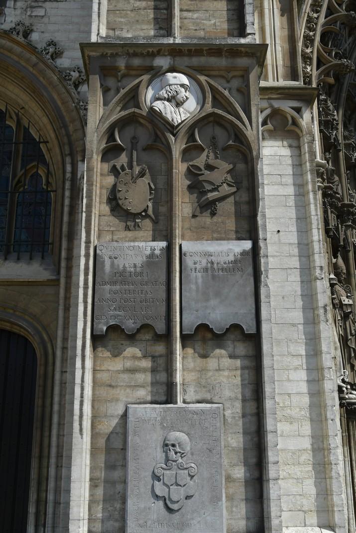 Gravat de Quentin Metsys de la Catedral de Nostra Senyora d'Anvers