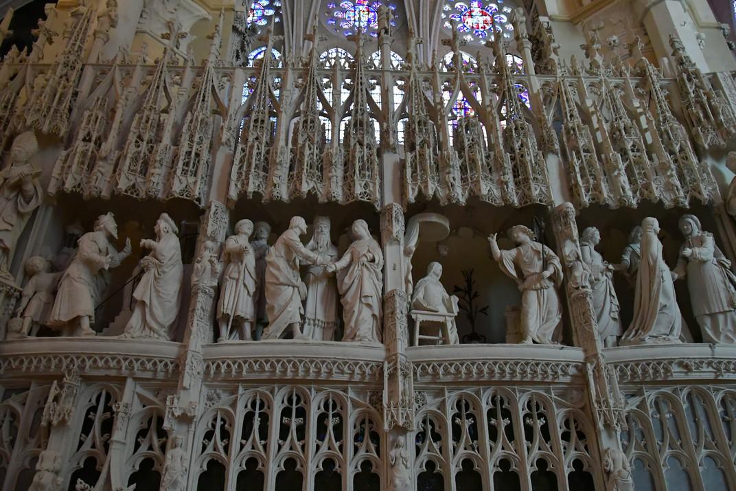 Grups escultòrics del Cor de la Catedral de Chartres