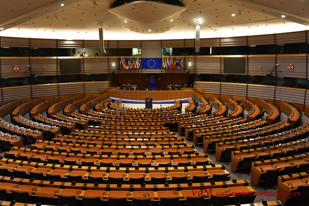 Hemicicle del Parlament de Brussel·les