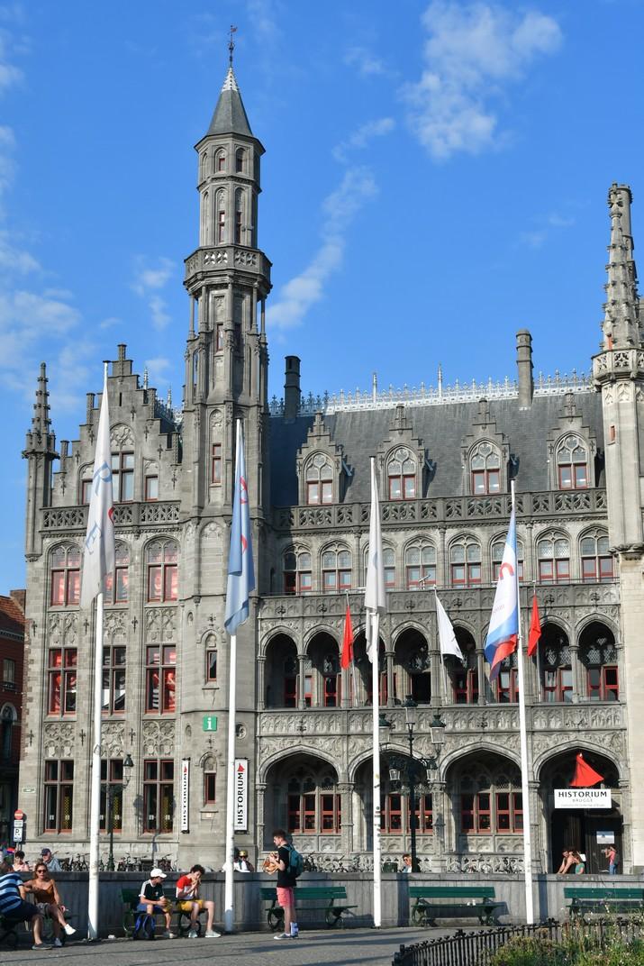 Historium de la plaça del Mercat Gran de Bruges