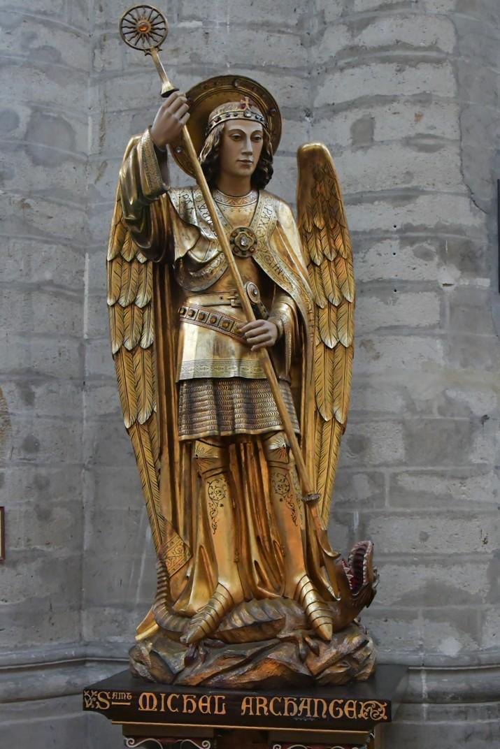 Imatge de Sant Miquel de la Catedral de Brussel·les