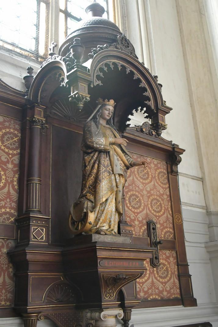 Imatge de Santa Caterina de l'església de Santa Caterina de Brussel·les