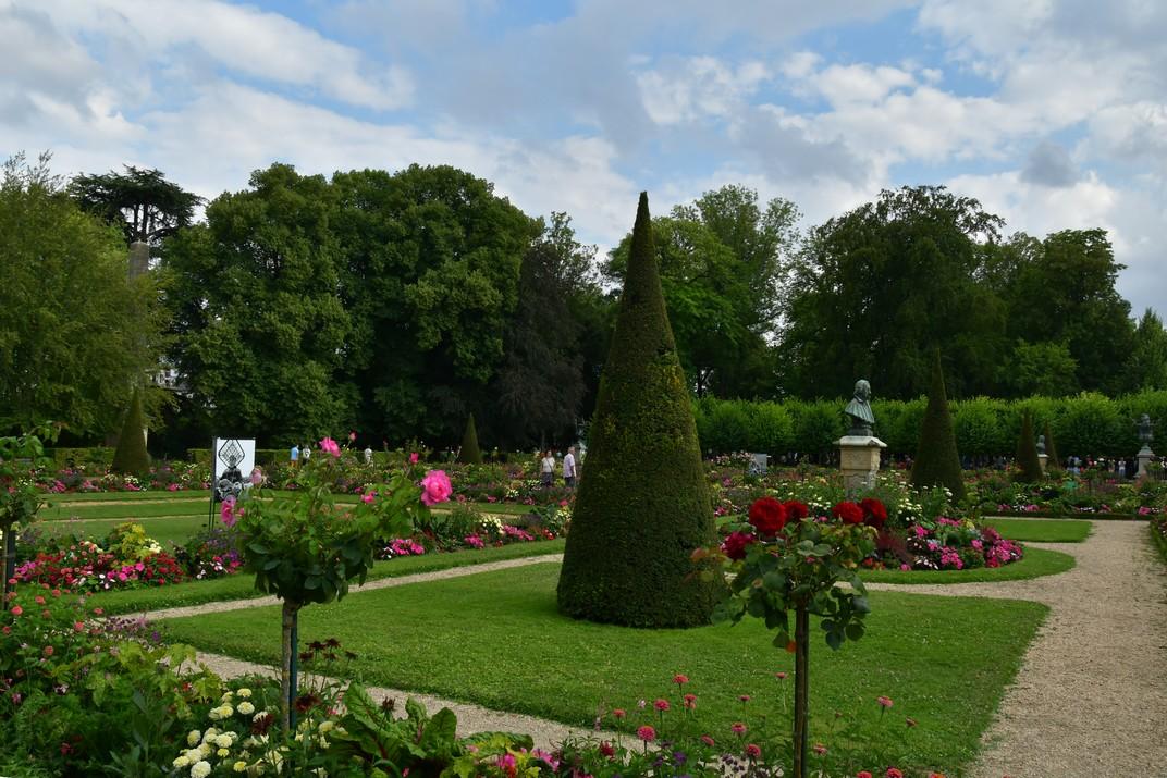 Jardins de l'Arquebisbat de Bourges