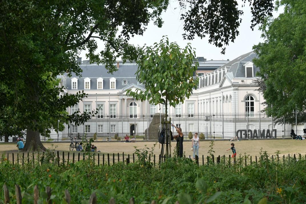 Jardins d'Egmont Brussel·les
