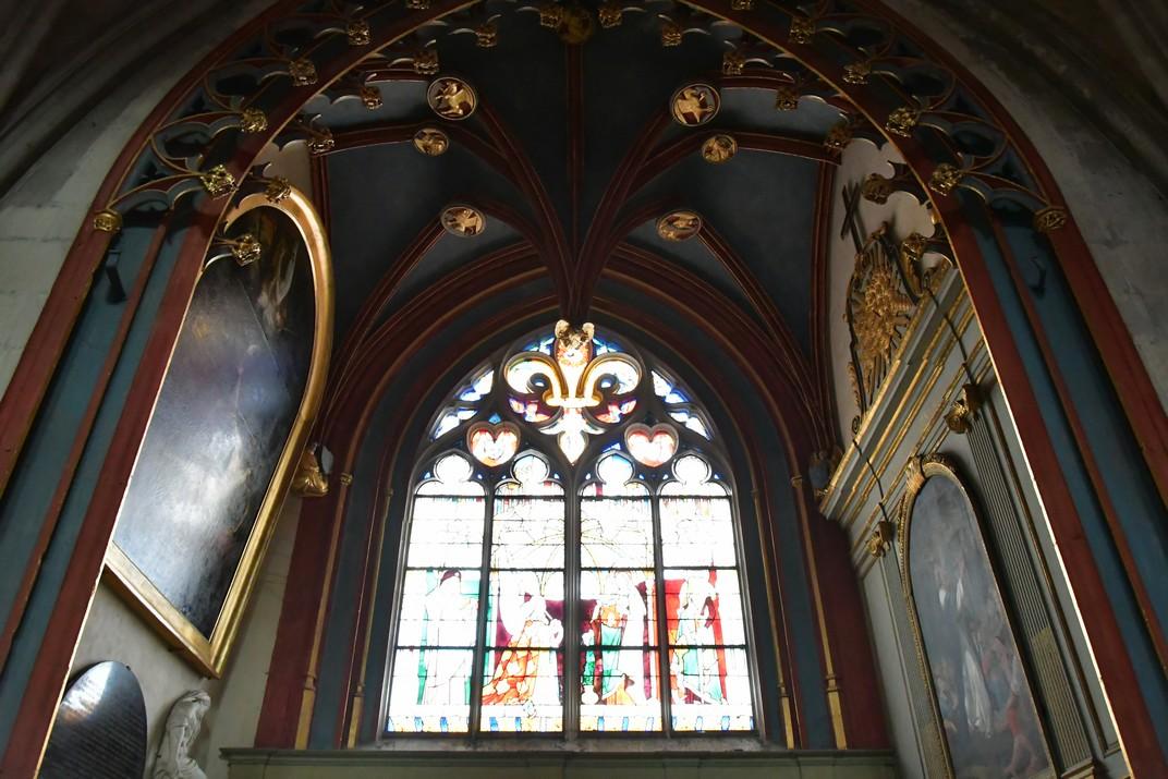 La capella Jacques Coeur de la Catedral de Bourges