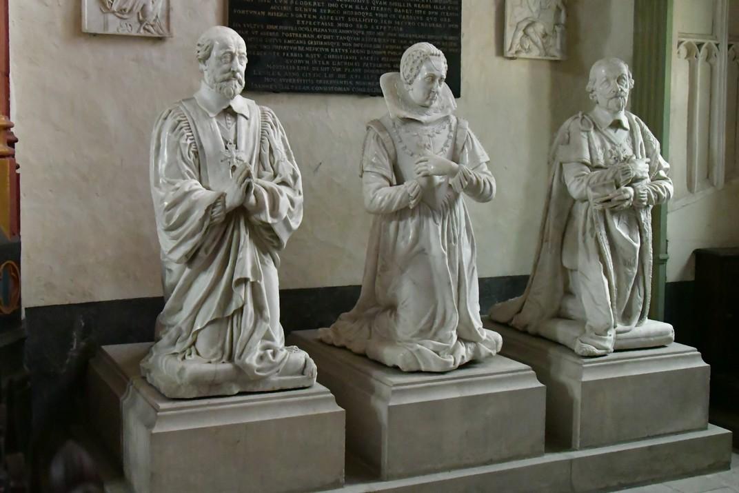 La família d'Aubespine a la capella Jacques Coeur de la Catedral de Bourges