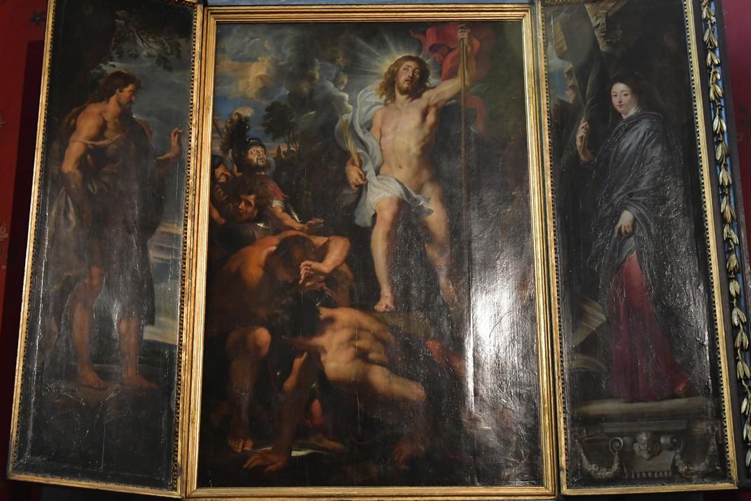 La resurrecció de Crist de Rubens de la Catedral de Nostra Senyora d'Anvers