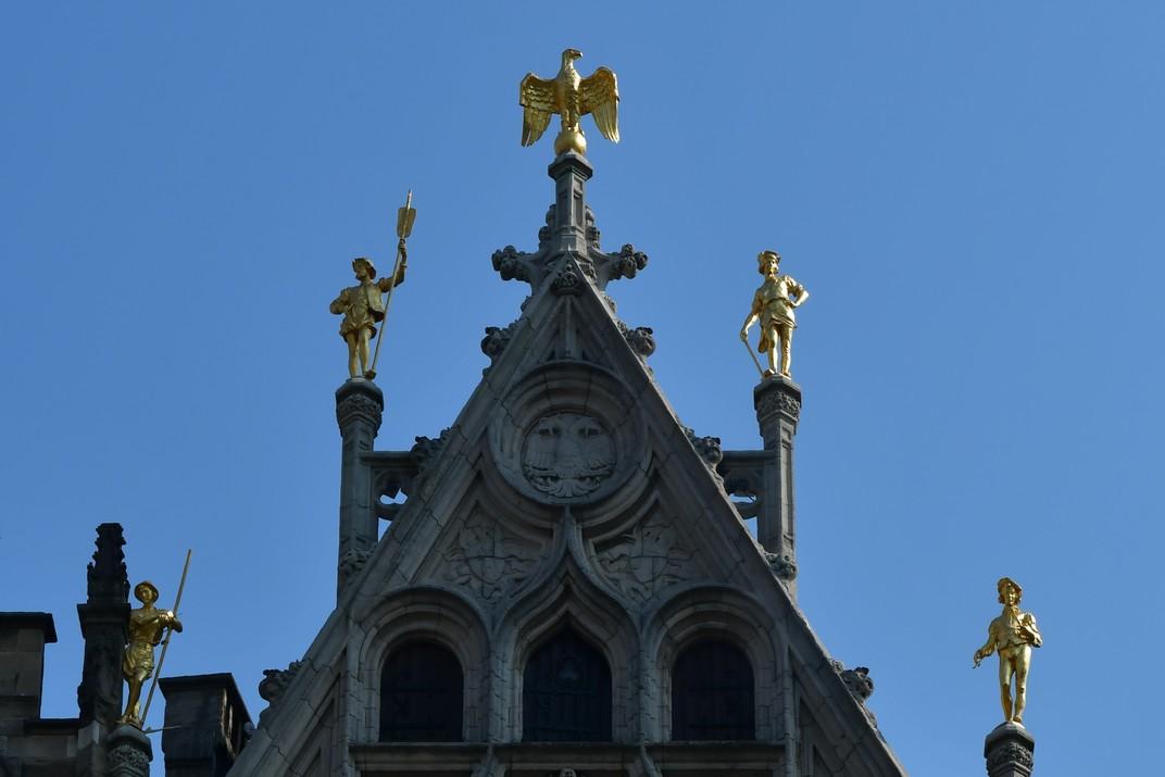 L'Àliga de les cases gremials de la plaça del Mercat Gran d'Anvers