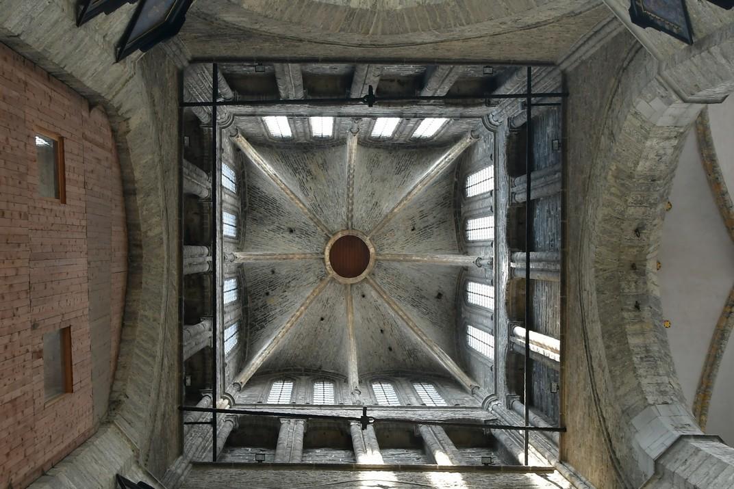 Llanterna de l'església de Sant Nicolau de Gant