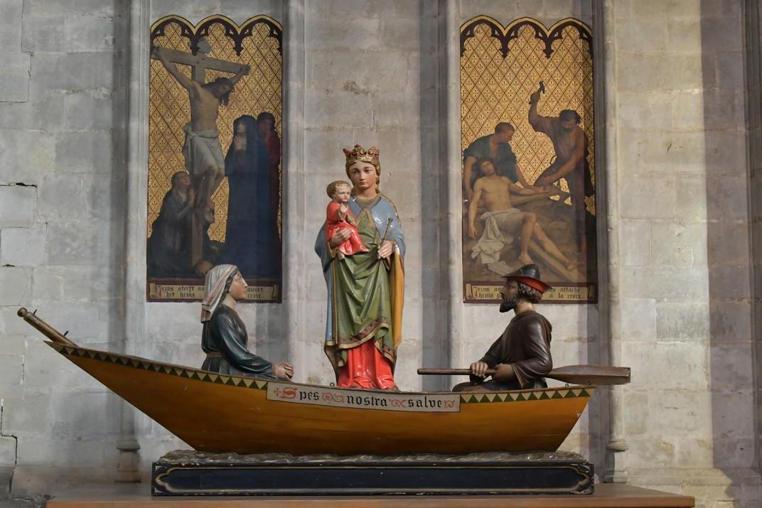 Mare de Déu de l'església de Nostra Senyora de les Victòries del Sablon de Brussel·les