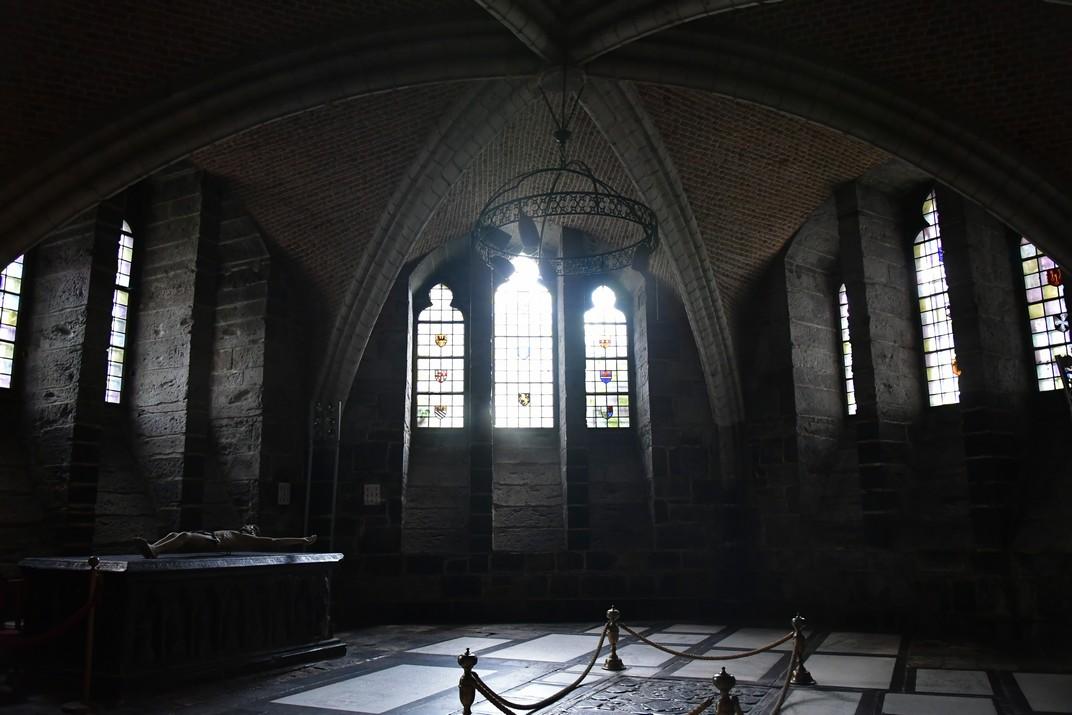 Mausoleu de la Cripta de la Catedral de Sant Bavó de Gant