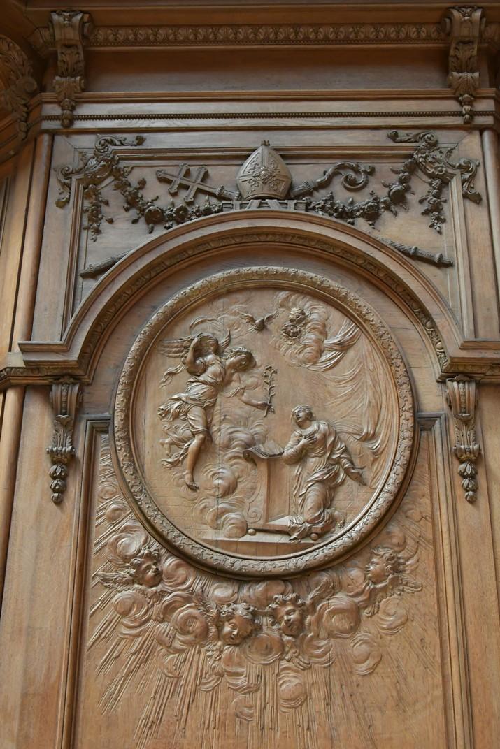 Medalló del Cor de la Catedral d'Orleans