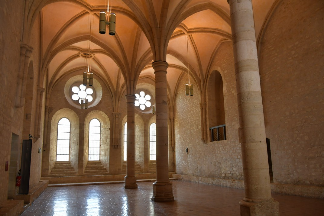 Menjador dels monjos de l'abadia de Noirlac