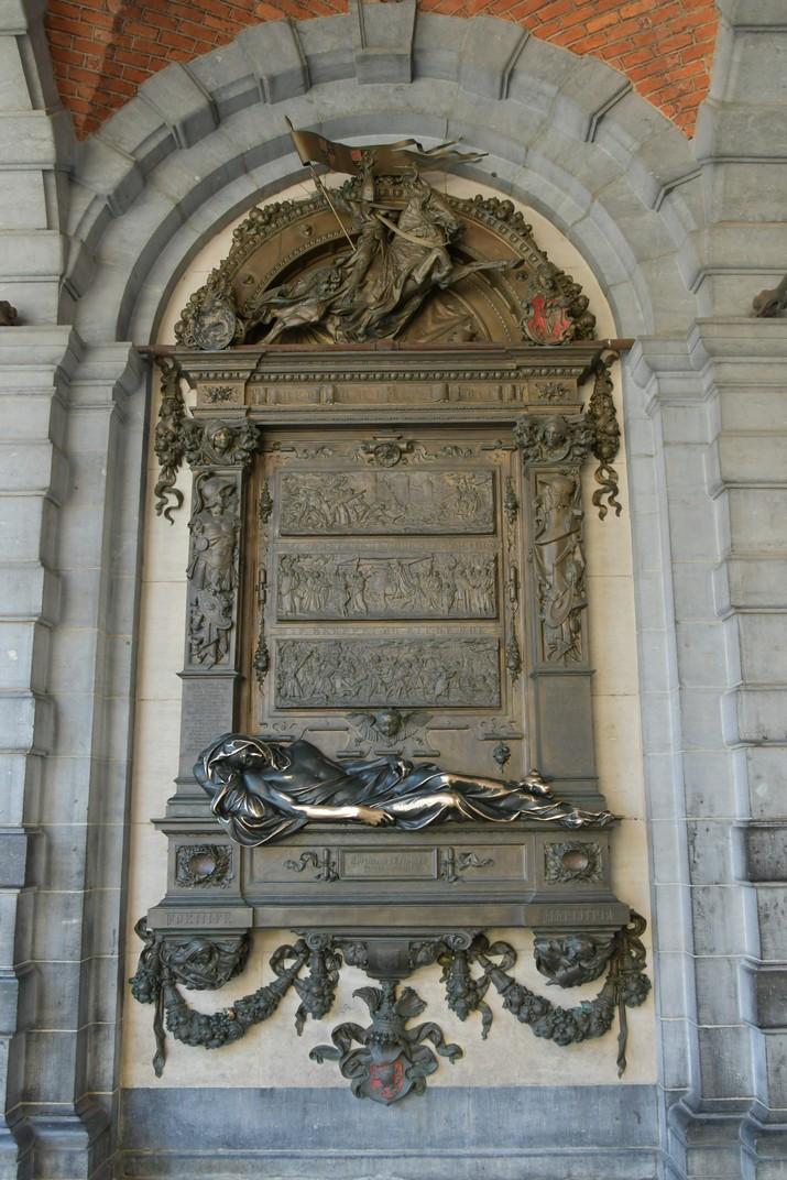 Monument a Everad t'Serclaes de la Gran Plaça de Brussel·les