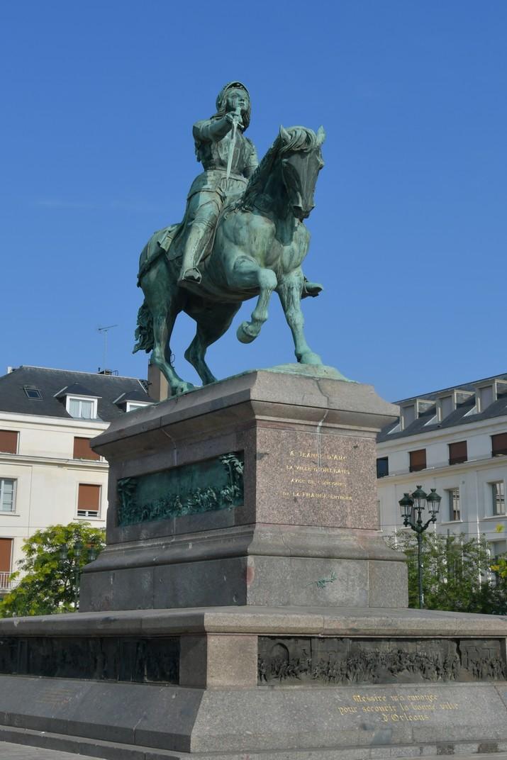 Monument a Joana d'Arc de la plaça del Martroi d'Orleans