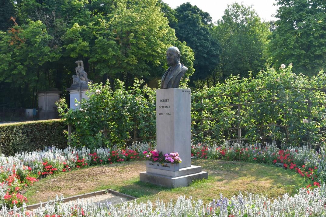 Monument a Schuman del Parc del Cinquantenari de Brussel·les