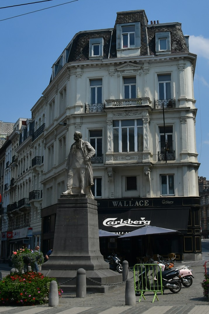 Monument al General Brialmont del Carrer Reial de Brussel·les