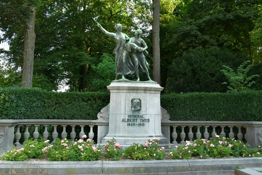 Monument al General Thys del Parc del Cinquantenari de Brussel·les