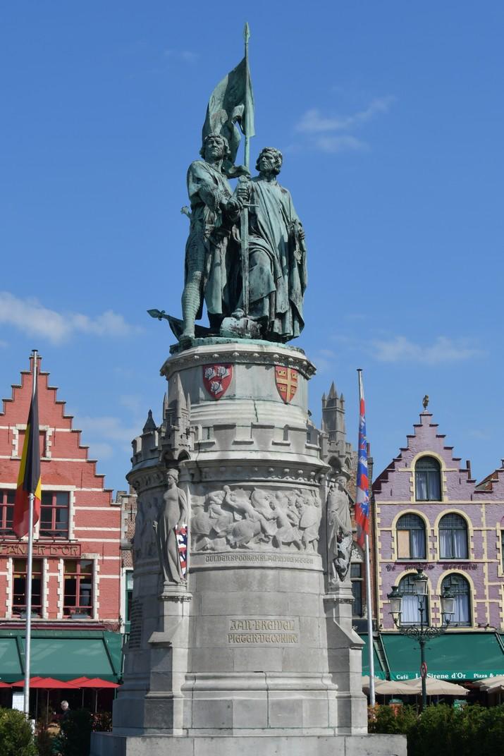 Monument de Jan Breydel y Pieter De Coninck de Bruges