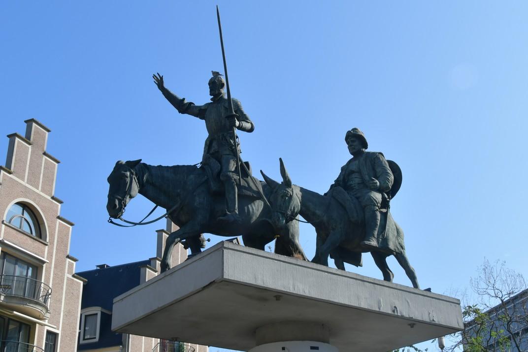 Monument del Quixot de la plaça d'Espanya de Brussel·les
