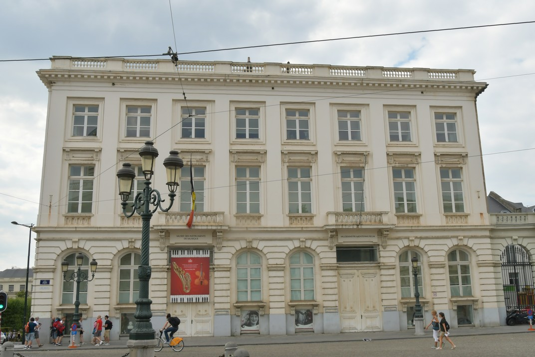 Museu d'Instruments Musicals de la Plaça Reial de Brussel·les