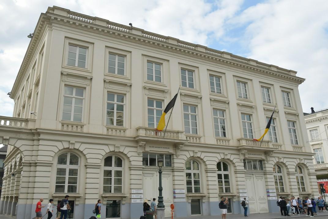 Museu Magritte de la Plaça Reial de Brussel·les