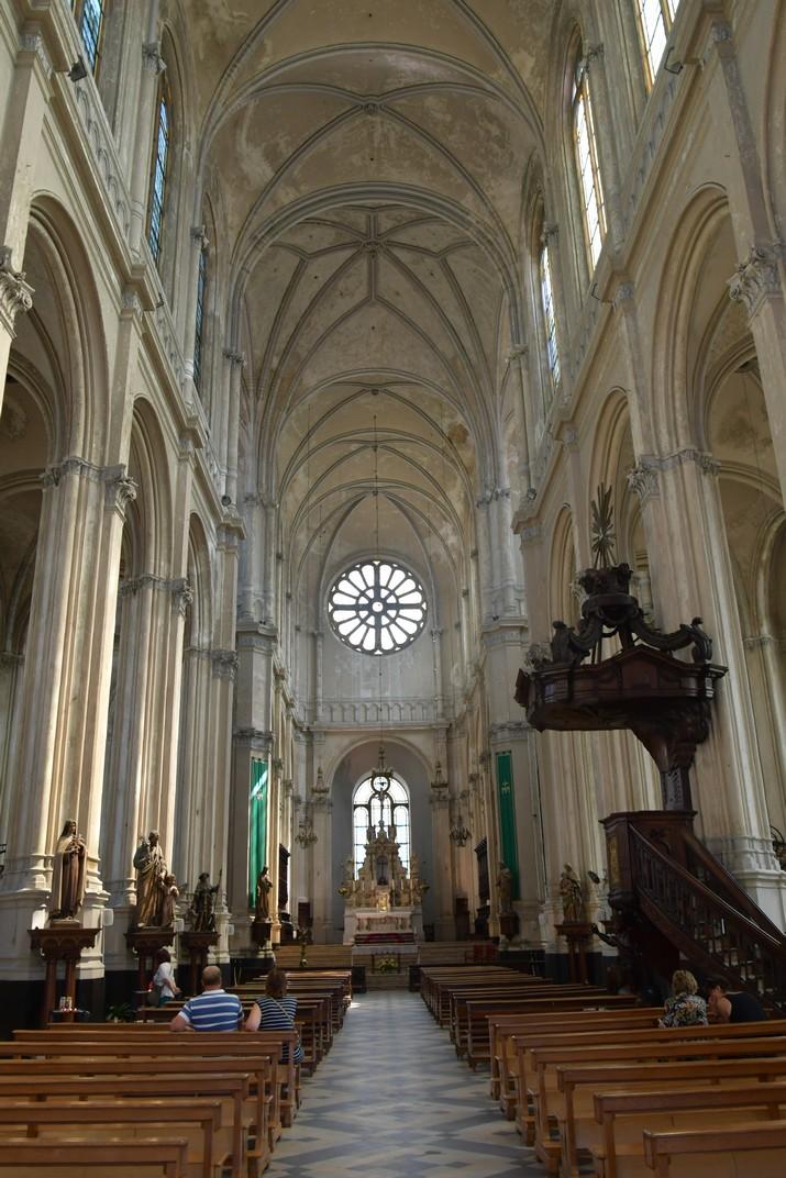 Nau central de l'església de Santa Caterina de Brussel·les