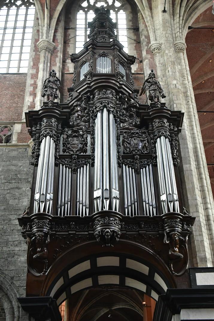 Orgue de la Catedral de Sant Bavó de Gant