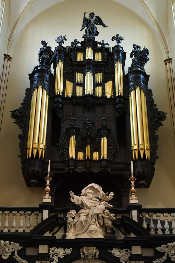 Orgue de la Catedral de Sant Salvador de Bruges