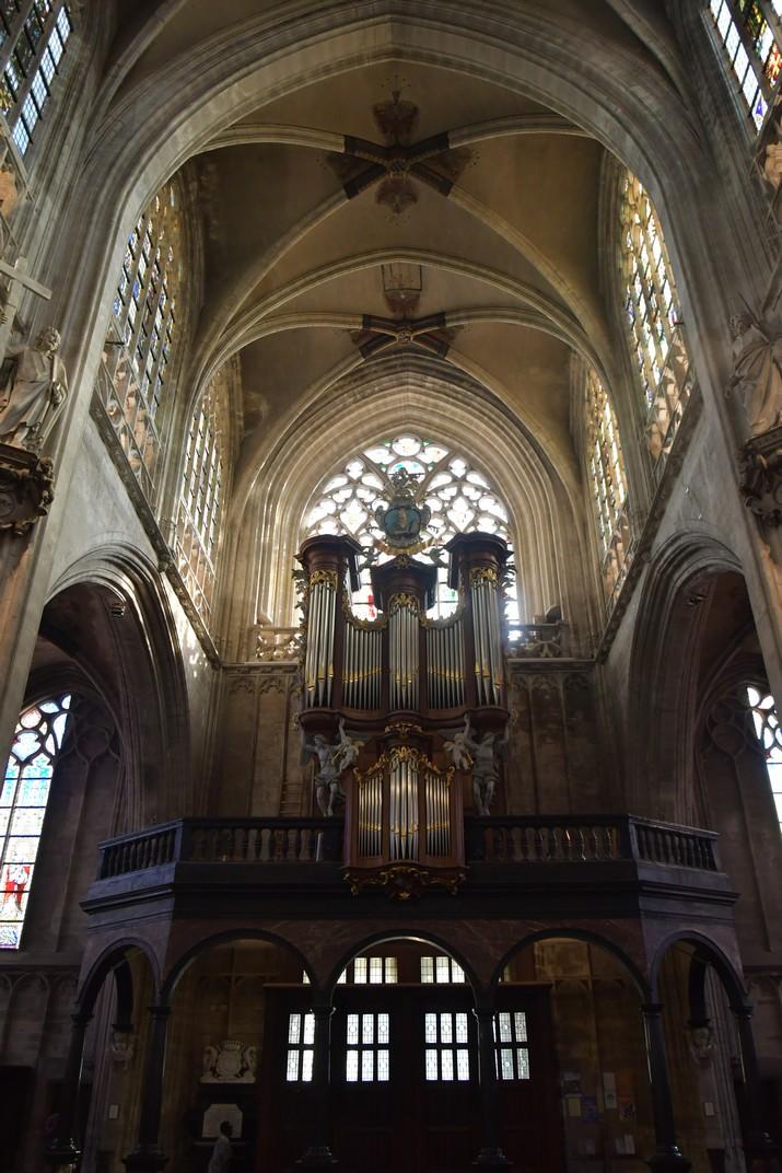Orgue de l'església de Nostra Senyora de les Victòries del Sablon de Brussel·les