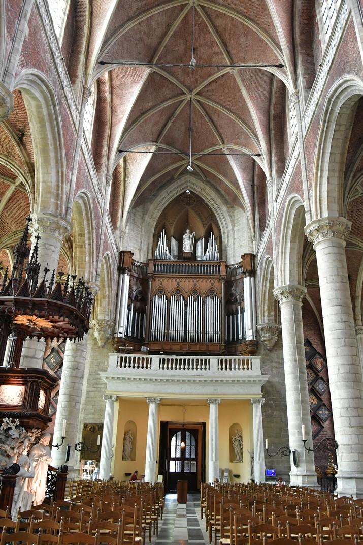 Orgue de l'església de Sant Miquel de Gant