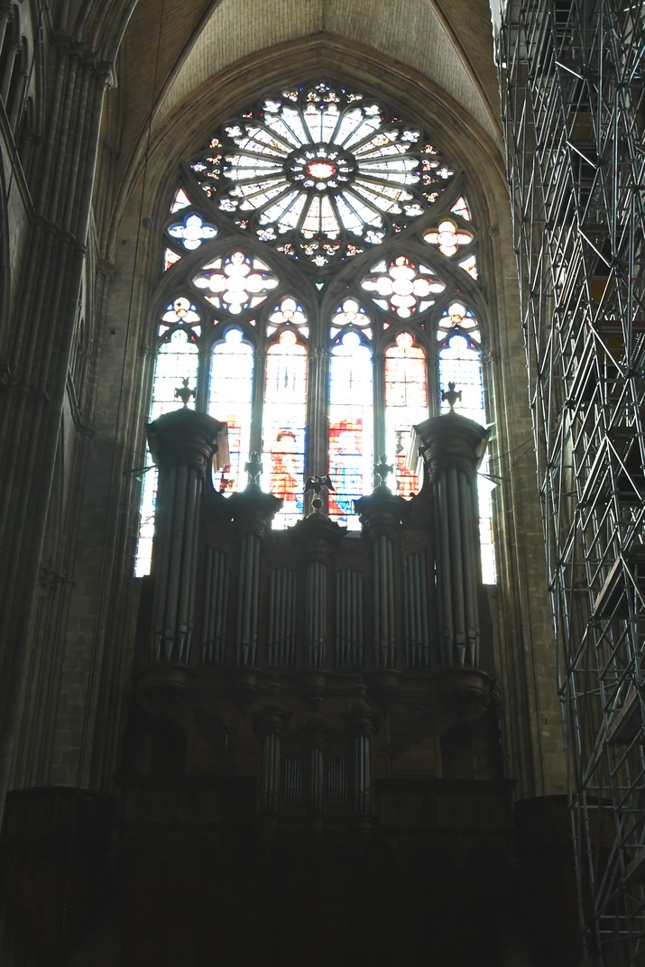 Orgue gran de la Catedral de Bourges