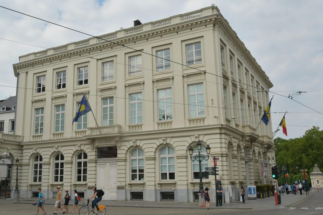 Palau de Carles V de la Plaça Reial de Brussel·les