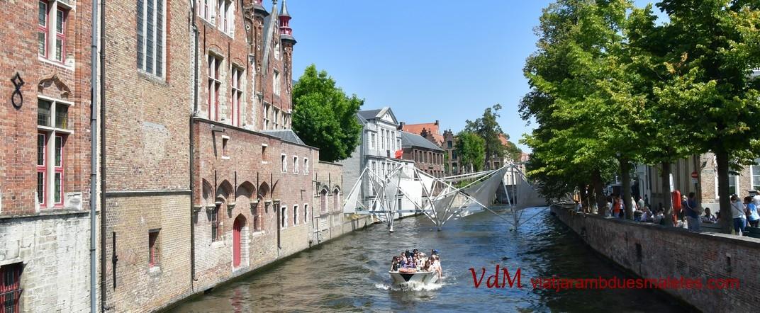 Passeig en barca de Bruges