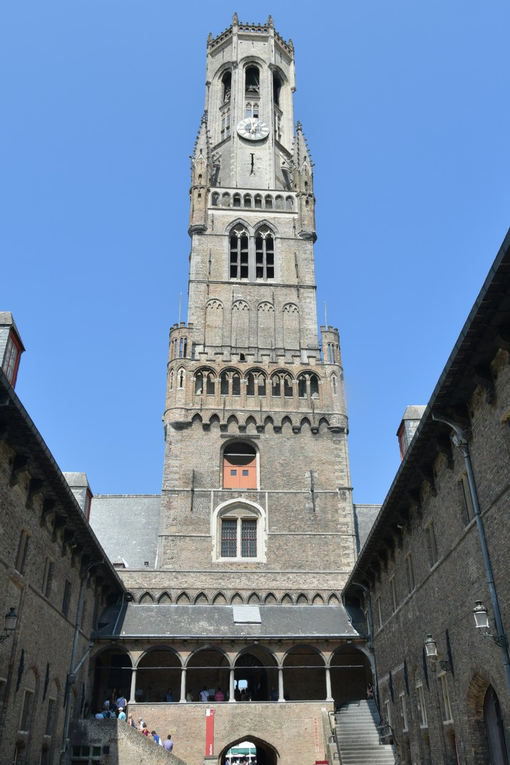 Pati interior del Mercat cobert de Bruges