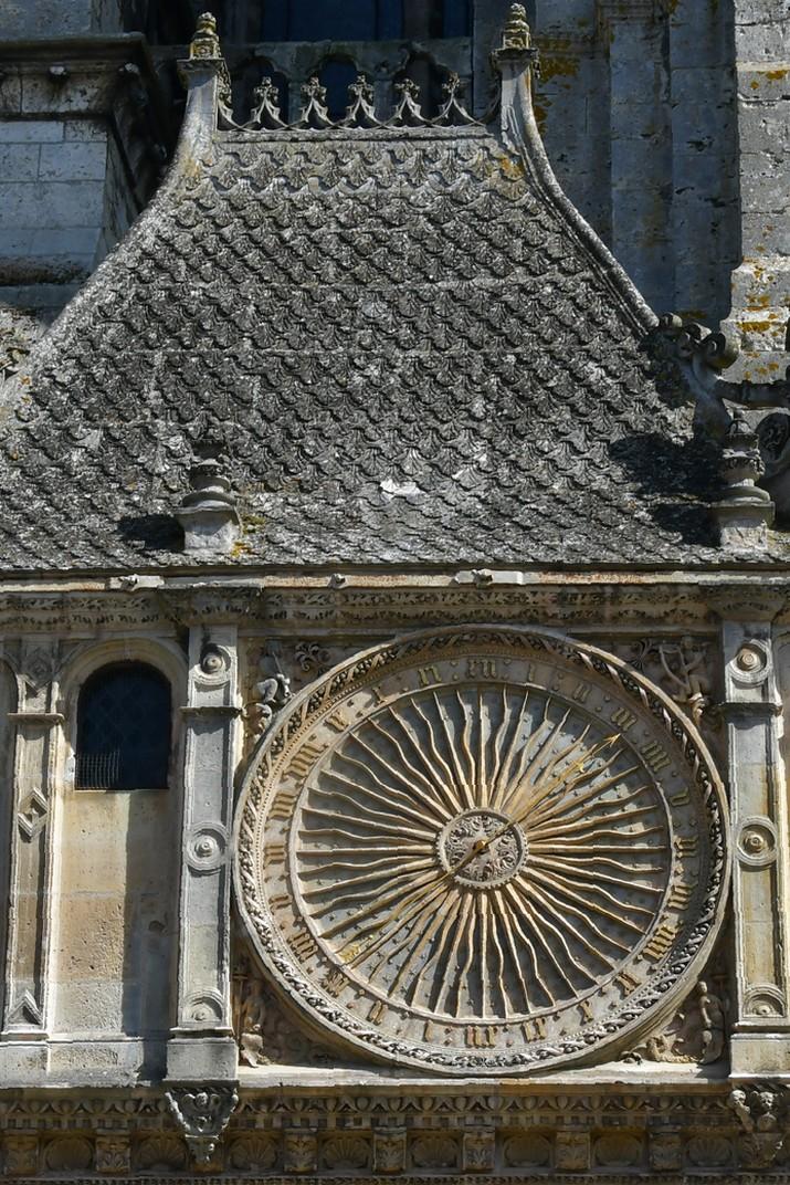 Pavelló del rellotge de la Catedral de Chartres