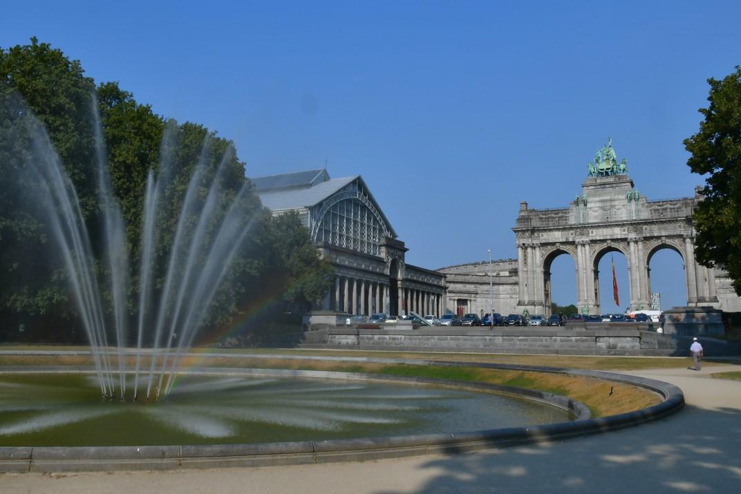 Pavellons del Parc del Cinquantenari de Brussel·les