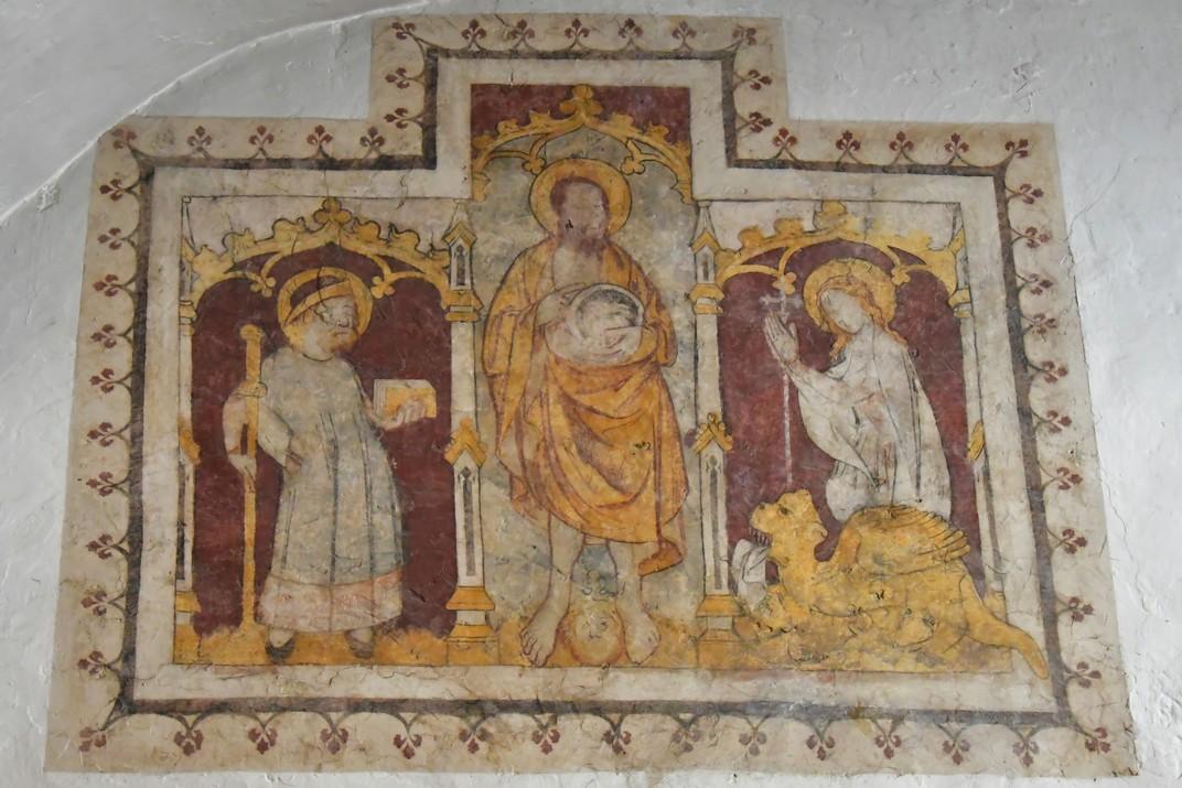 Pintures murals de la Cripta de la Catedral de Sant Bavó de Gant