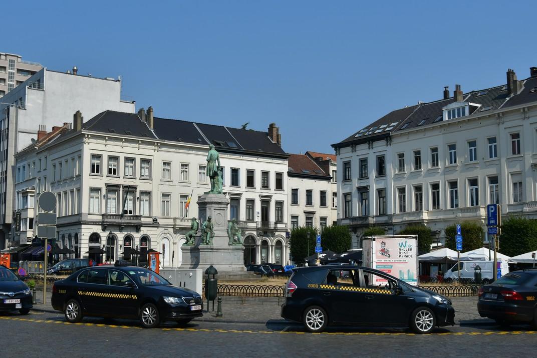 Plaça de Luxemburg de Brussel·les