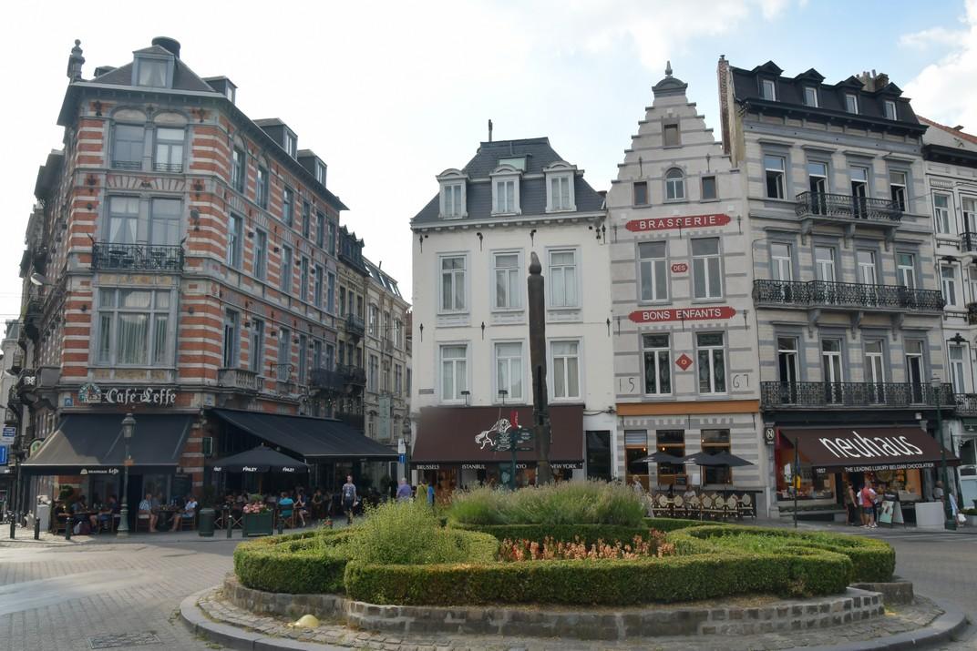 Plaça del Gran Sablon de Brussel·les