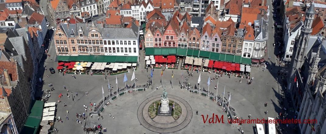 Plaça del Mercat Gran de Bruges
