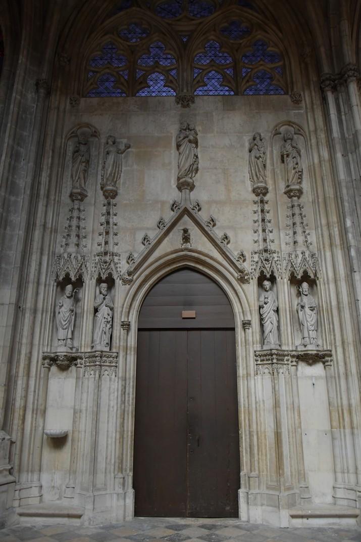 Porta de Monsenyor de la Catedral d'Orleans