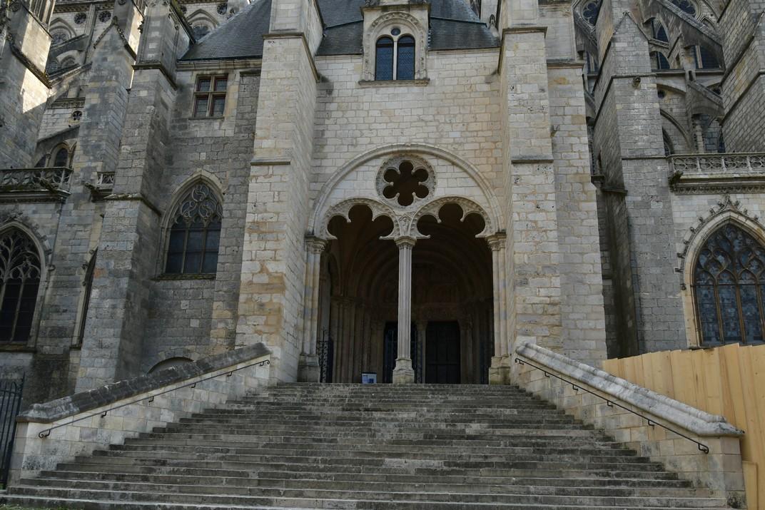 Porta nord de la Catedral de Bourges