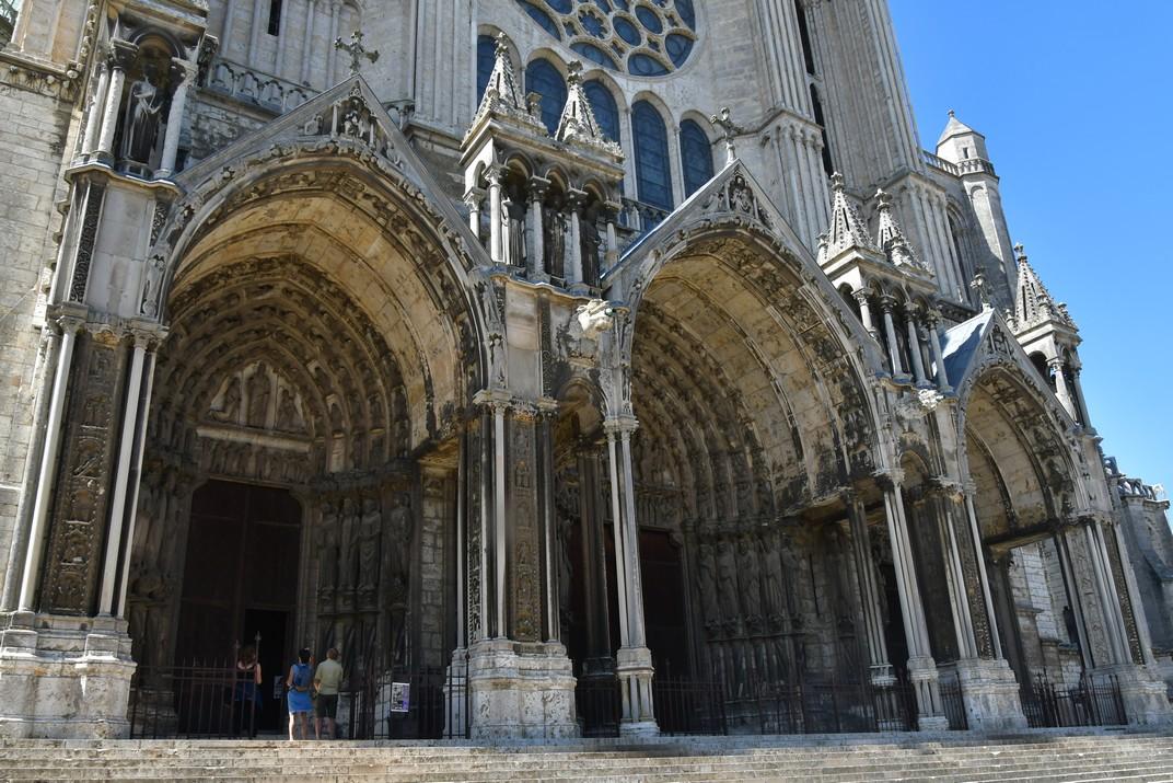 Pòrtic sud de la Catedral de Chartres